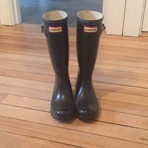 kids hunter rain boots